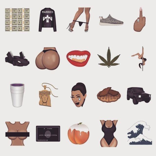 Image result for kim kardashian emoji