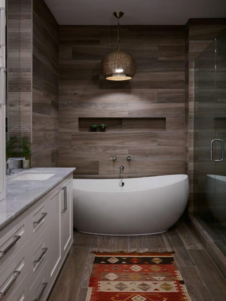 Best 25 modern bathroom tile ideas on pinterest slate effect tiles grey wooden floor and Bathroom light fixtures chicago