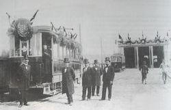 1900-ban az I. sz.villamos