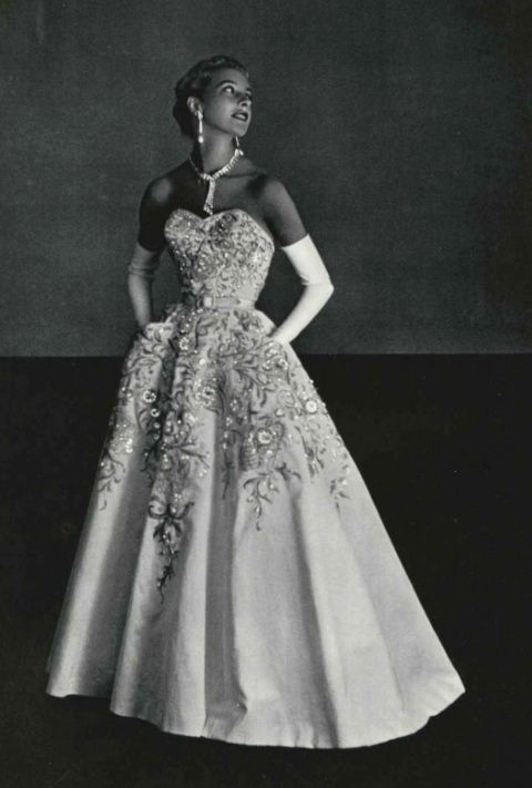 Pierre Balmain Evening Dress, 1953 this this this