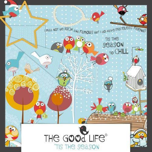 'Tis the Season The Good Life-like the embellishments