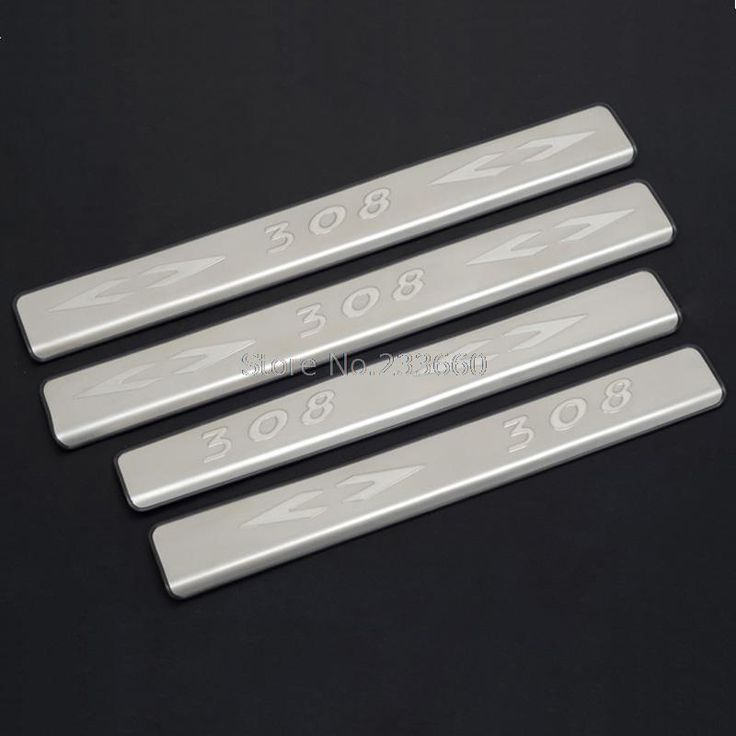 $28.99 (Buy here: https://alitems.com/g/1e8d114494ebda23ff8b16525dc3e8/?i=5&ulp=https%3A%2F%2Fwww.aliexpress.com%2Fitem%2F2012-Peugeot-308-4dr-Sedan-Stainless-Steel-Door-Sill-Strip-Stainless-Steel-Foot-Pedal-4pcs%2F1703747797.html ) Fit For Peugeot 308 2012 4dr Sedan Stainless Steel Door Sill Strip Stainless Steel threshold Foot Pedal 4pcs for just $28.99