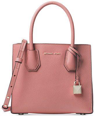 bd22d250cb19 Michael Kors Mercer Pebble Leather Crossbody - Handbags & Accessories -  Macy's