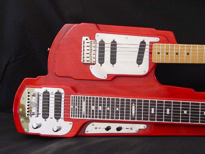 Junior Browns Invention The Guit Steel Created By Renown Luthier Mr