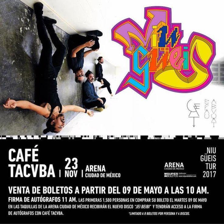 Café Tacvba se presentará en Arena Ciudad de... |