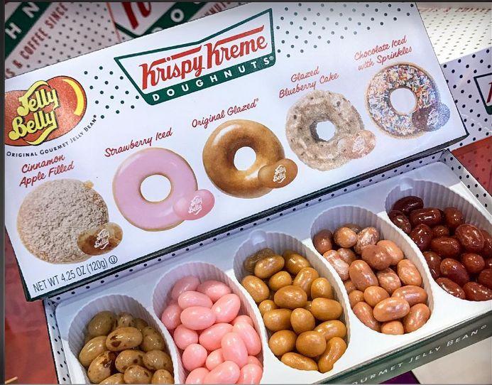 Krispy Kreme Doughnut flavored Jelly Belly Jelly Beans