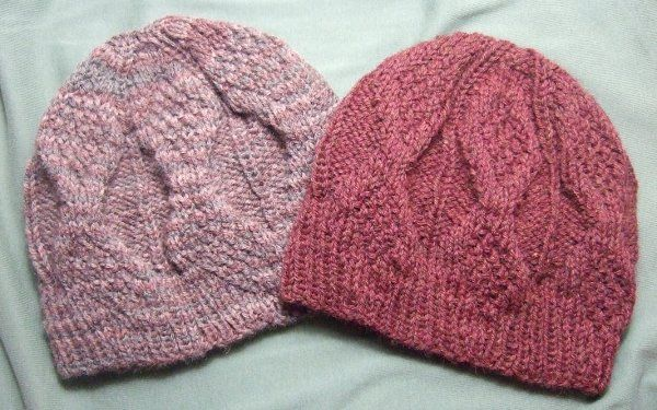 Mock Aran Knitted Mens Hat - Clothing Knitted My Patterns - - Mama's Stitchery Projects