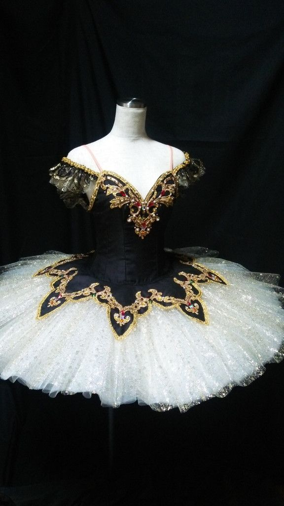 Exclusive design 2015/2016 This fantastic professional tutu is one of our latest additions. This stage costume can be used for the role of Raymonda, Satanella, Le Corsaire, La Bayadere *Gamzatti) and                                                                                                                                                       More