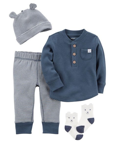 Baby Boy 4-Piece Babysoft Take-Me-Home Set from Carters.com. Shop clothing & accessories from a trusted name in kids, toddlers, and baby clothes.