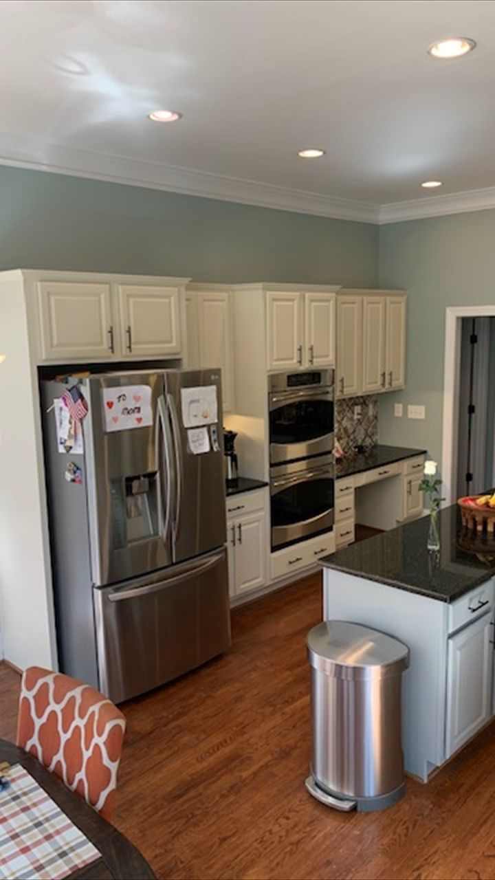 How to get a smooth finish when painting kitchen