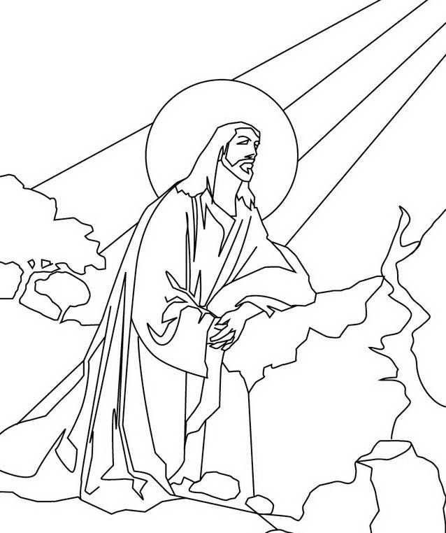 Ascension of Jesus Christ Coloring Pages family holiday ...