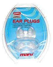 Maru Silicone Ear Plugs - Clear The Maru Silicone Ear Plugs is available in clear and is the perfect solution to stop water entering the ear whilst swimming (Barcode EAN=5035008129229) http://www.MightGet.com/january-2017-13/maru-silicone-ear-plugs--clear.asp