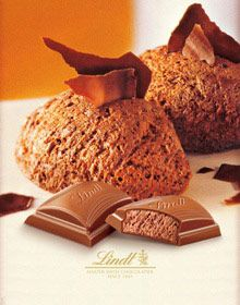 Lindt Chocolate delectable catalog cover!