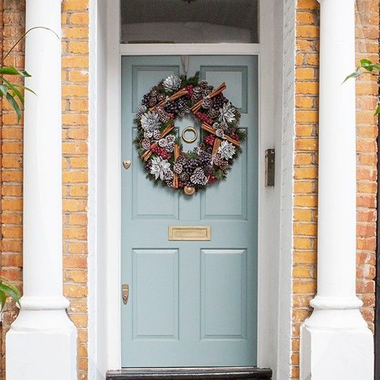 exterior festive west london home house tour photo gallery homes gardens