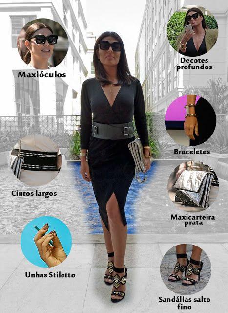 O estilo da Carolina (Juliana Paes) na novela Totalmente Demais - blog Moda de Novela