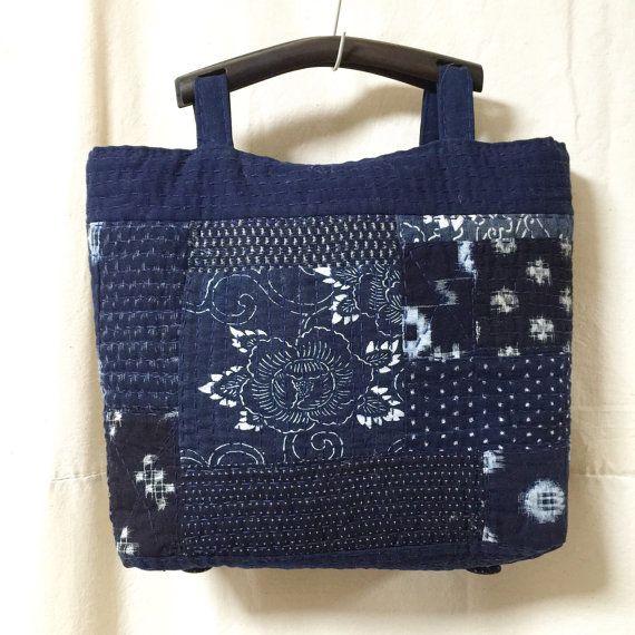 Giapponese Boro Remake Tote Bag borsa Tote di JapaneseBOROshop