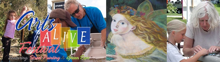 Mission Viejo, CA Arts Alive Festival. 50s theme. street painters, art workshops for adults & kids
