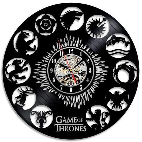 Game of Thrones House Clock