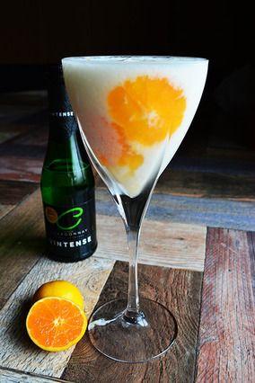 ノンアルコール白ワイン×レモンパイアイス×みかん 期間限定大人のシェーク|レシピブログ