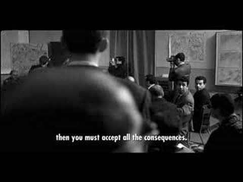 The Battle of Algiers - the greatest movie ever! The film made into the person I am today!