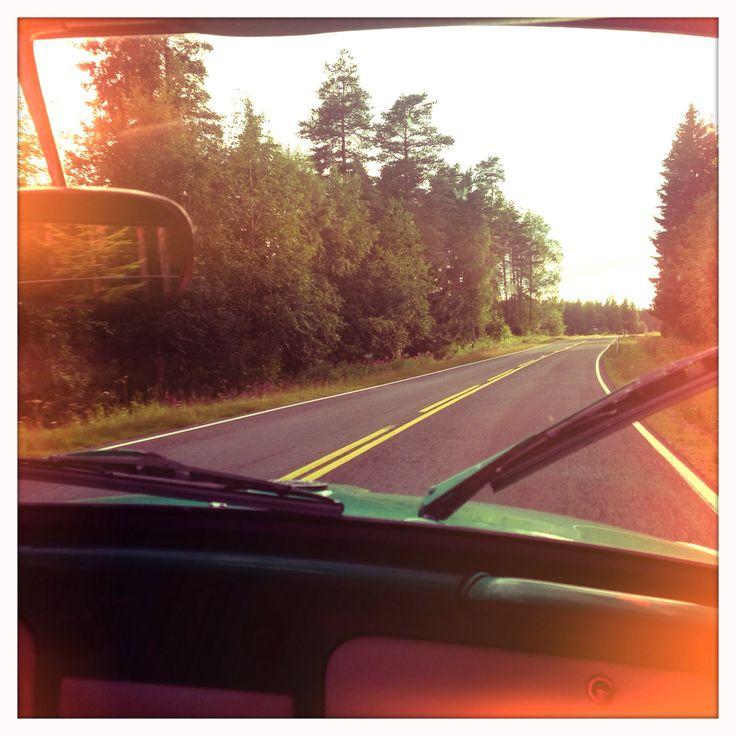 Beetle-64. Trip. Summer. Kesä. Matka.