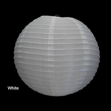 white nylon lantern 50cm (not solar)