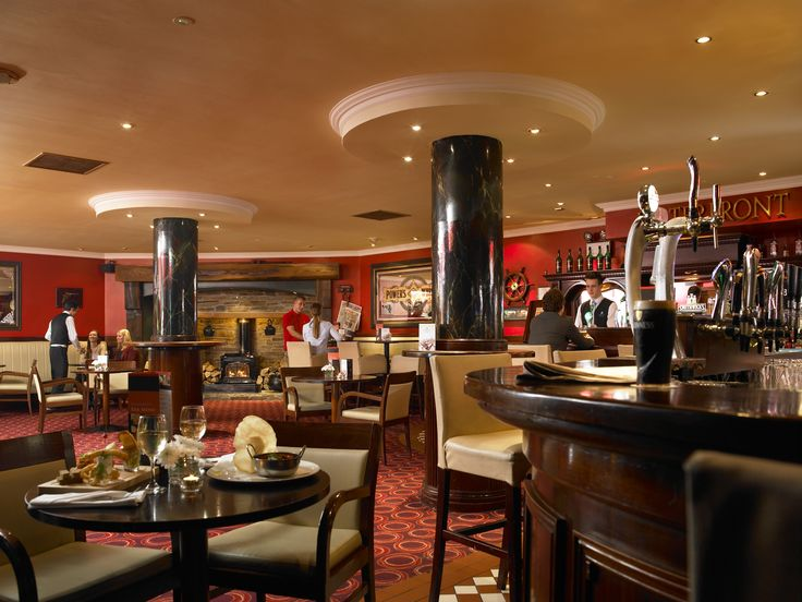 Enjoy top class food, drink and live entertainment in the warmth of our Waterfront Bar