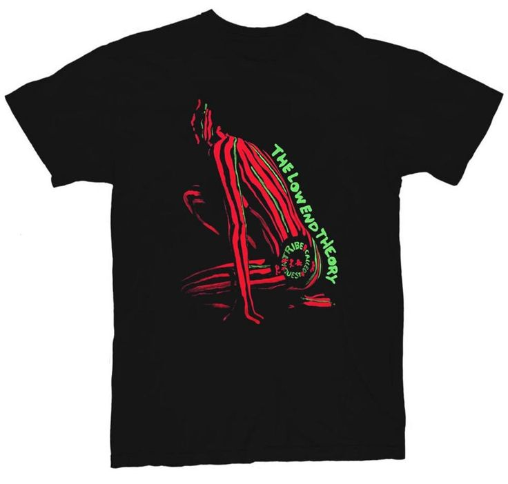 A tribe Called Quest Atcq Mens T-Shirt Midnight Marauders Poster Vinyl LOW END THEORY RAP HIP HOP T Shirts euro sizeS-XXXL