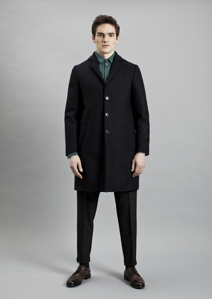 Keith Shirt, Tennant Coat and Presley Trousers | Samuji Men Fall Winter 2014 Collection