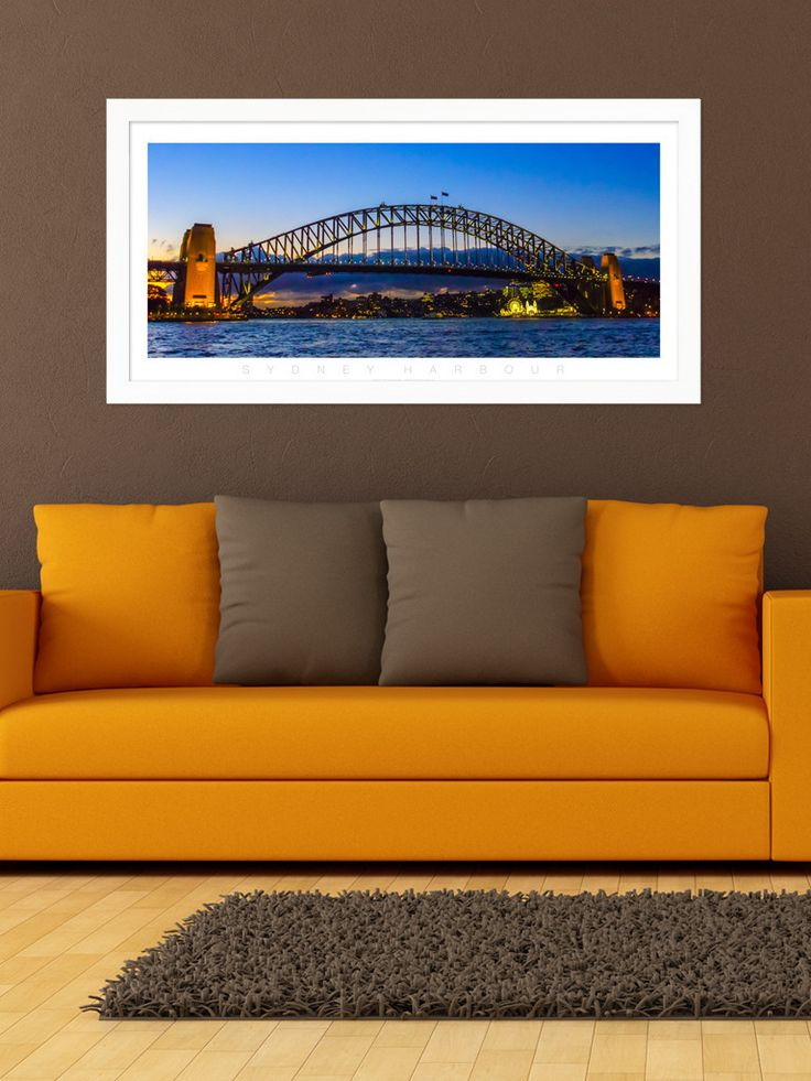 Sydney Harbour Colour Panoramic