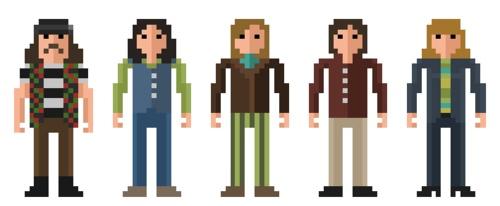 Grateful Dead: 8 Bit Pixel, 8Bit Pixel, Pixel Art
