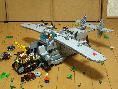 lego air cargo plane instructions