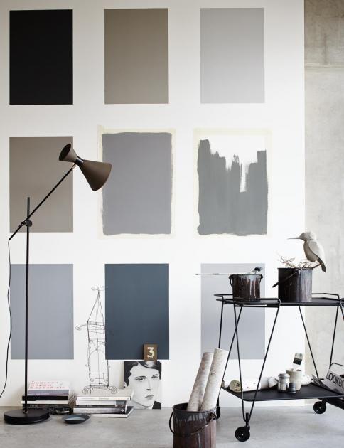 Die 10 besten Bilder zu Farbgestaltung auf Pinterest Graue Wände