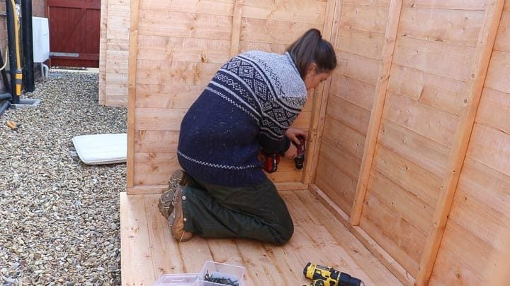 How To Build A Wickes Shed With Images Wickes Shed Shed Roof