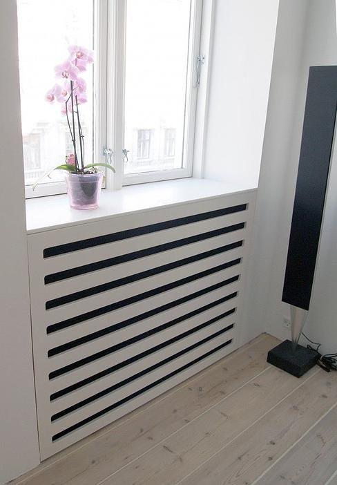 Cache radiateur moderne deco maison pinte - Cache radiateur maison ...