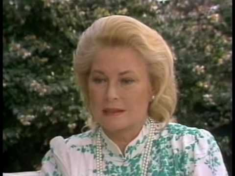 The last interview with Grace Kelly - on ABC's 20/20 (Part 4 of 6)    The interview with Pierre Salinger (June 22, 1982) was recorded less than 2 month before her death.    Credit goes to Nikosvault (http://www.youtube.com/user/nikosvault)    NO COPYRIGHT INFRINGEMENT INTENDED