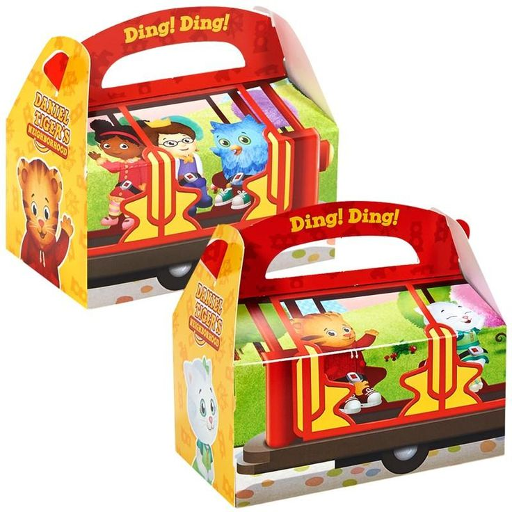 At the end of your child's birthday celebration, send your party guests home with some tiger-ific favors. These take-home boxes are an adorable way to thank guests for attending your bash. Fill them with your little one's favorite candies and small toys for a sweet way to remember your little one's special day.