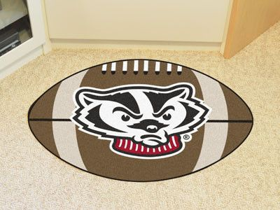University of Wisconsin Football Mat