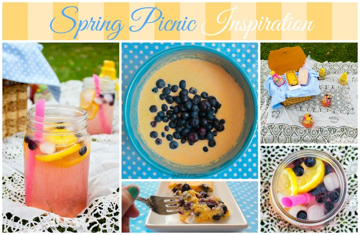 Spring Picnic Inspiration Board #PourMoreFun #Ad