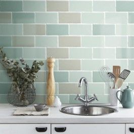 Craquele Olive Wall Tile