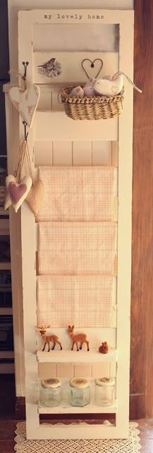 recycled piece of futon ♥