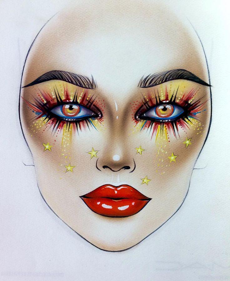 "6,046 Likes, 20 Comments - Sergey X (@milk1422) on Instagram: ""#artist@milk1412 ✨ #mylove #myart #myartistcommunity #myartistcommunityrussia #makeup #makeupart…"""