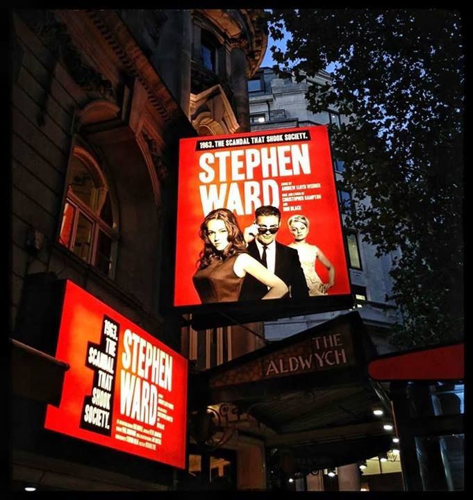 Up on the Marquee: West End's STEPHEN WARD