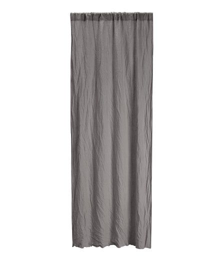 Check this out! PREMIUM QUALITY. Heavy-drape curtain panels in washed linen with a wide cased heading. Hemming tape included. - Visit hm.com to see more. 79.99
