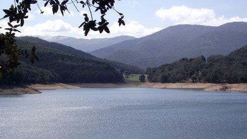 Lake of Gavoi