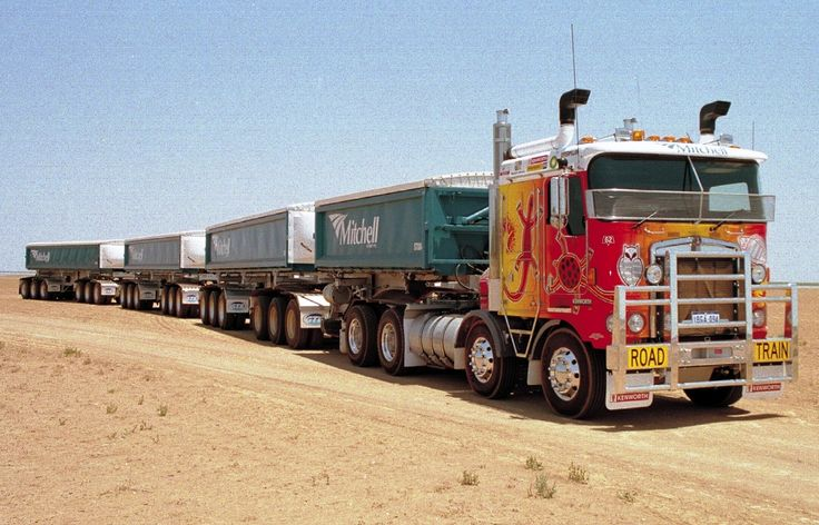KW twin steer road train, all my fav combinations in one