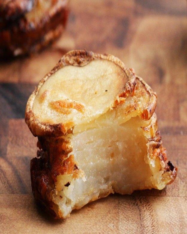 Garlic Parmesan Potato Stackers | Here's What Happens When You Combine Garlic…