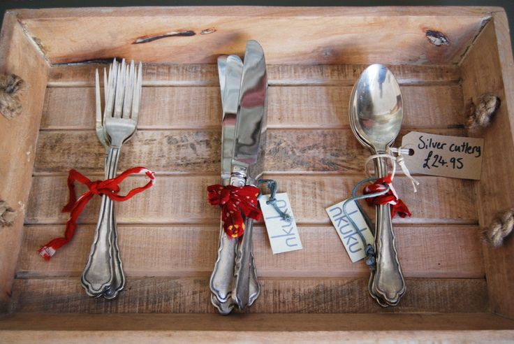 Vintage cutlery | Elizabeth Lee Interiors