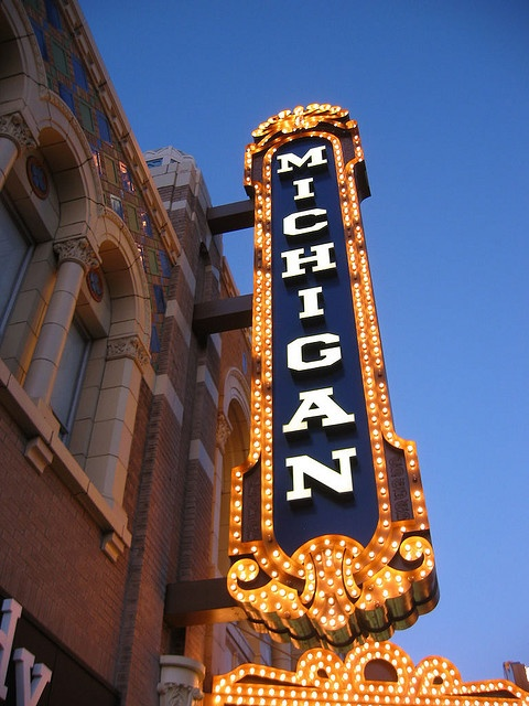 Michigan Theatre, Ann Arbor, Michigan