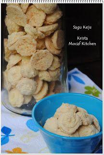 KRISTA MOCAF KITCHEN: Sagu Keju (Cheese Sago) Cookies